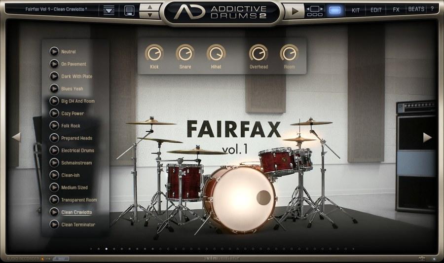 SUMMER GAME - ドラム「FAIRFAX vol.1」