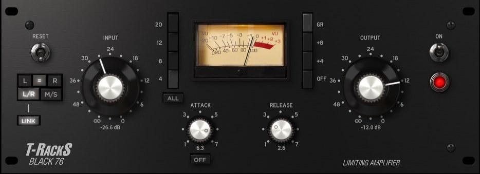 雪にとける想い - ボーカル編集「Black 76 Limiting Amplifier」